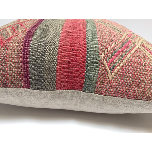 Boho Chic Moroccan Pastel Colors Bohemian Throw Pillows For Sale - Image 3 of 13