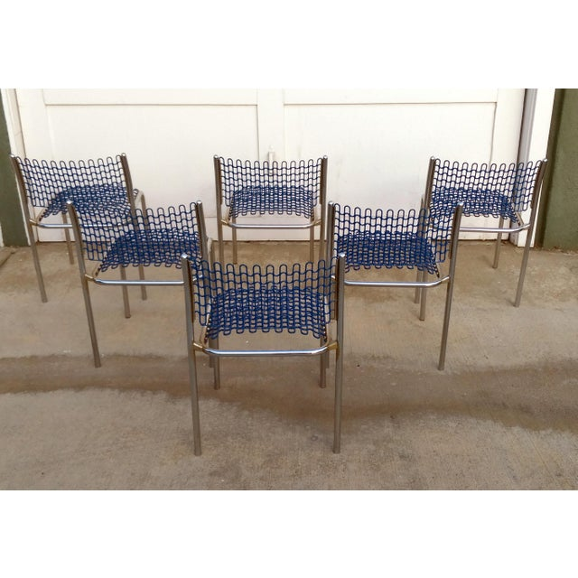 Mid-Century Modern Thonet Sof-Tech Side Chairs by David Rowland - Set of 6 For Sale - Image 3 of 11