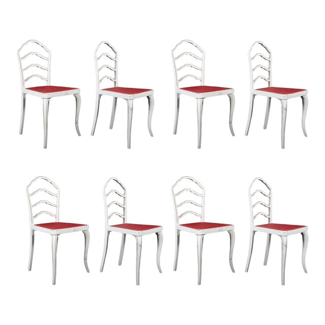 Dining Chairs by Thonet, 1930 - Set of 8 For Sale