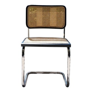 Marcel Breuer Cesca Cane Side Chair For Sale