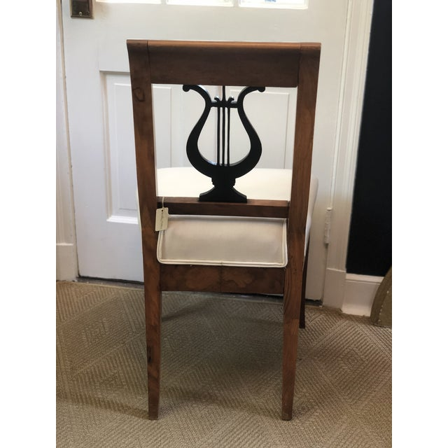 Early 19th Century Cherry Wood Biedermeier Chair For Sale - Image 4 of 7