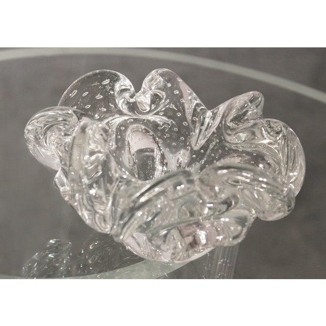 Vintage Murano Glass Flower Bowl - Image 4 of 11