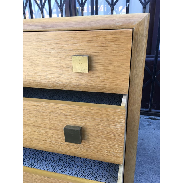1940s Art Deco Petite Chest of Drawers For Sale In Los Angeles - Image 6 of 13