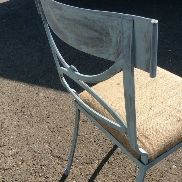 French Empire Chairs - Set of 4 For Sale - Image 9 of 11