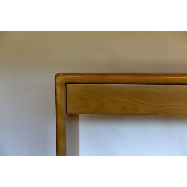 Gerald McCabe Solid Birch Console Table - Image 5 of 7