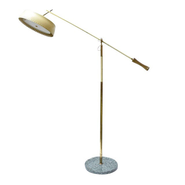 Angelo Lelli Design Floor Lamp For Sale