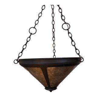 Mica Lamp Company Hook Uplight Chandelier