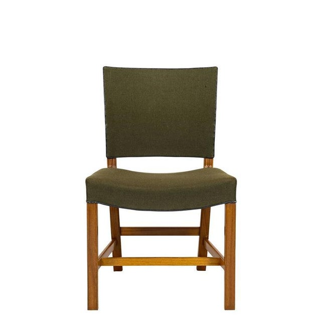 Mid-Century Modern Set of Ten Kaare Klint Dining Chairs For Sale - Image 3 of 10