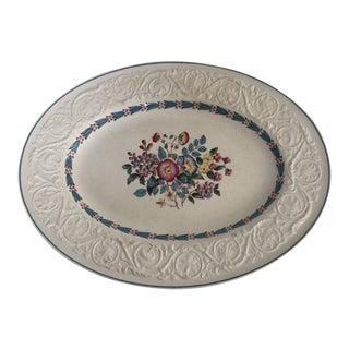 Vintage Wedgwood Patrician Morning Glory Serving Platter For Sale