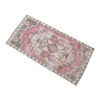 Hand Knotted Door Mat, Entryway Rug, Bath Mat, Kitchen Decor, Small Rug, Turkish Rug - 1′8″ × 2′8″ For Sale