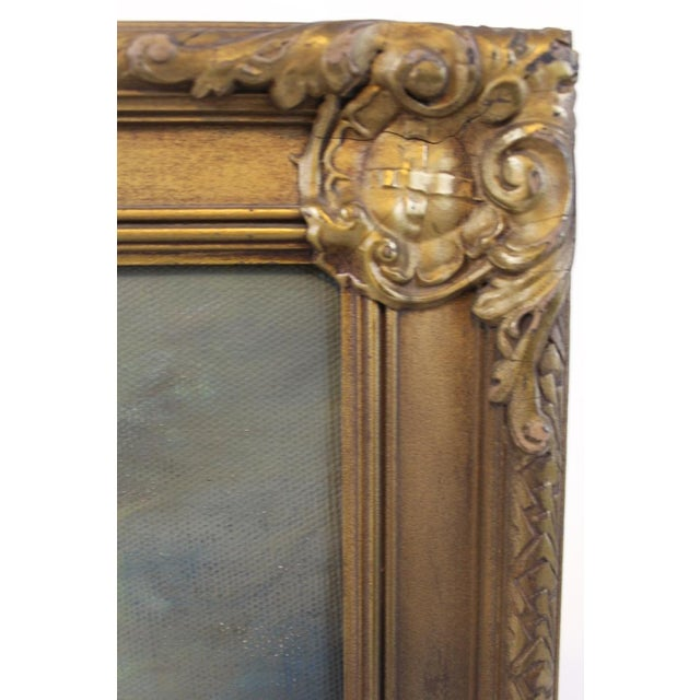 Late 19th Century Oil on Board Seascape Painting For Sale - Image 9 of 11