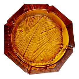 Image of Amber Ashtrays and Catchalls