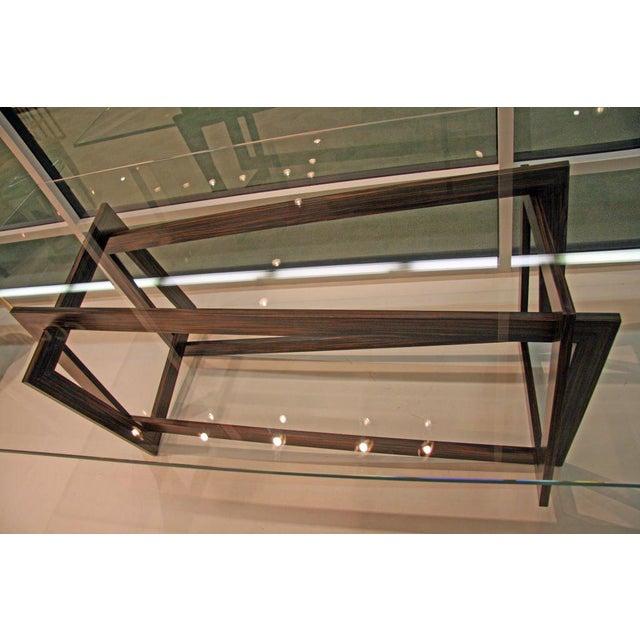 "Contemporary Raniero Aureli's Custom ""Soqquadro"" Table For Sale - Image 3 of 8"
