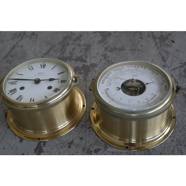 Schatz Maritime Clock and Weather Station - Image 4 of 7