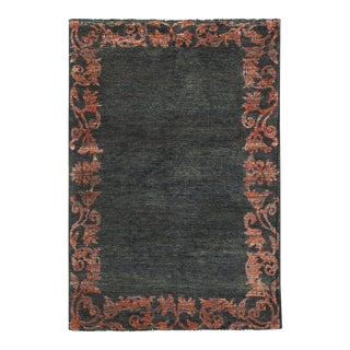 Contemporary Hand Woven Rug - 3'11 X 5'7 For Sale