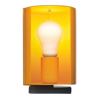 Charlotte Perriand 'Pivotante à Poser' Table Lamp in Yellow For Sale