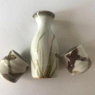 Sake for Two - Handmade Pottery Sake Serving Set Preview