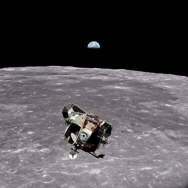 Buzz Aldrin. Apollo 11. 'Lunar Module Ascent' Exclusive Art Print by TASCHEN Books, Autographed by Buzz Aldrin For Sale