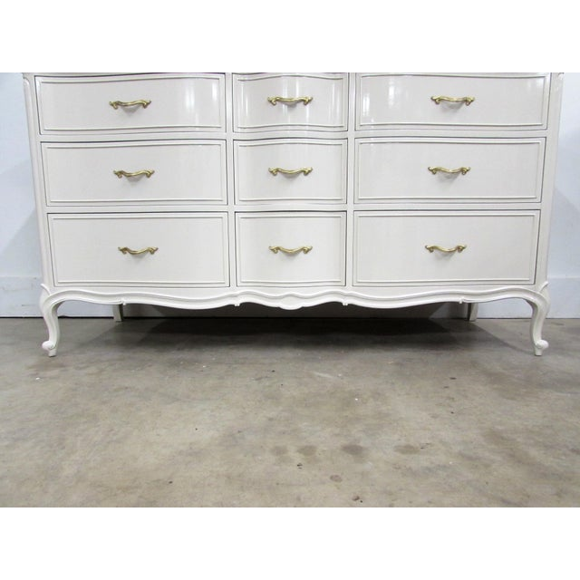 Drexel French Lacquered Chest of Drawers - Image 6 of 10