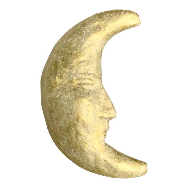 Handmade Papier-mâché Moon - Image 1 of 5