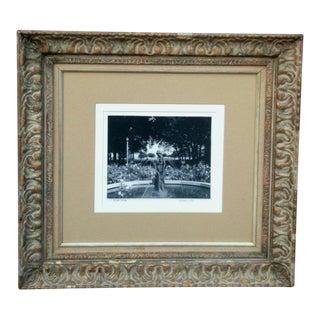 "Grant Park ""Crane Girl"" Photograph For Sale"