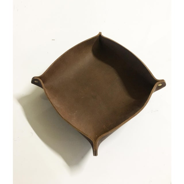 Leather Catch-All For Sale - Image 4 of 4