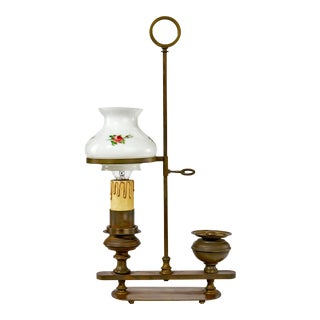 Early 20th Century Lamp Modeled After a Mid-19th Century Candle Lamp For Sale