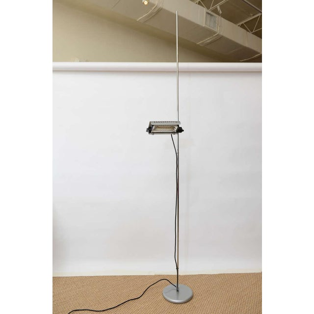 Italian Joe Colombo Alogena for O-Luce Italian Adjustable Floor Lamp For Sale - Image 3 of 10