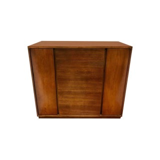 1970s Mid-Century Modern Frank Lloyd Wright for Henredon Heritage Tall Gentleman's Chest For Sale