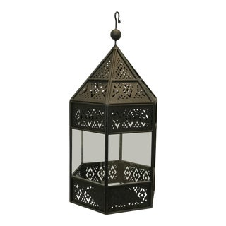 Moroccan Iron Lantern