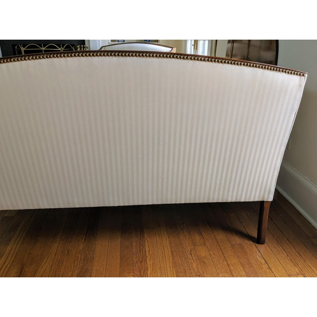 Hickory Chair James River Plantation Settee Loveseat For Sale In New York - Image 6 of 11