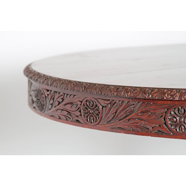 Anglo-Indian Tilt-Top / Centre Table of Mahogany For Sale - Image 9 of 13