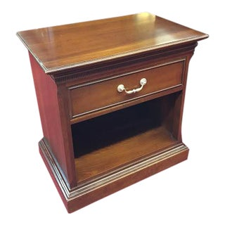 Vintage Ethan Allen Cherry Nightstand For Sale