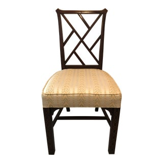 Hickory Chinese Chippendale Chair For Sale