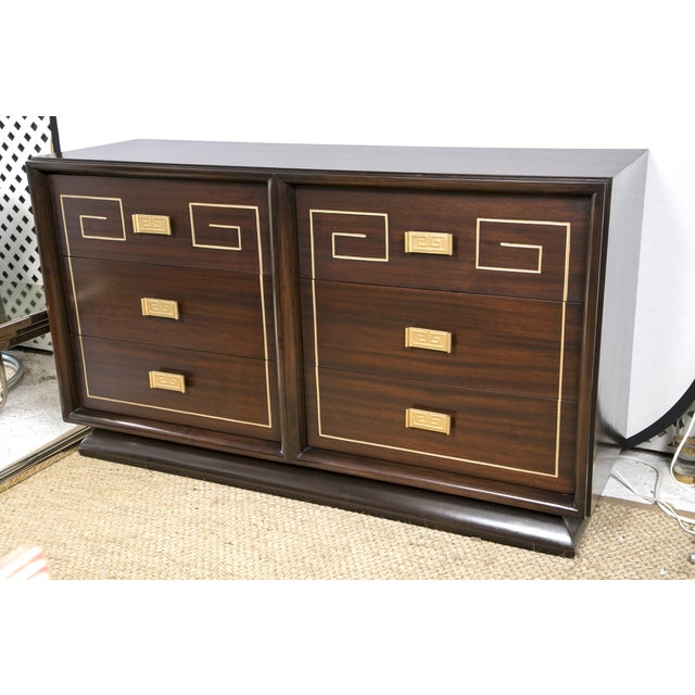 Tommi Parzinger Style Gold Detailed Sideboard - Image 4 of 10