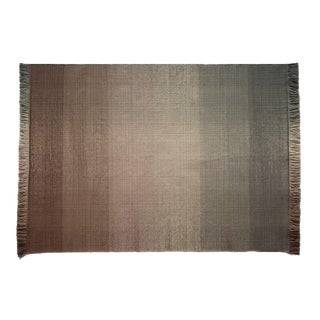 Nanimarquina Shade 4 Hand Loomed Dhurrie Outdoor Rug For Sale