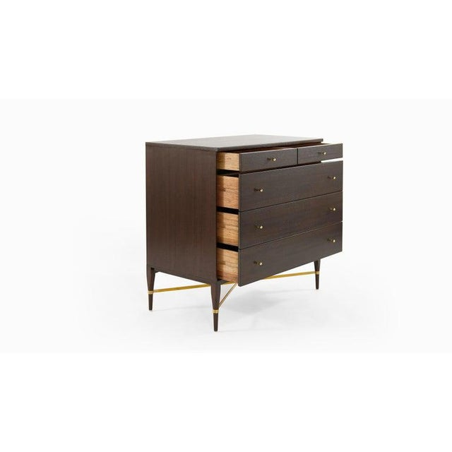 Wood Pair of Bedside Mahogany Chests by Paul McCobb, Calvin Group, 1950s For Sale - Image 7 of 13