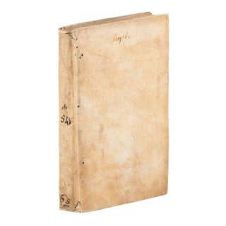 Mid-16th Century Antique Catharinus' Polemic Against Savonarola, First Edition Book For Sale