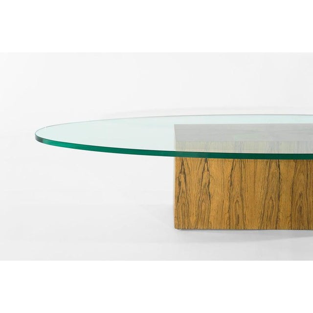 Rosewood Coffee Table by Harvey Probber, 1950s For Sale - Image 10 of 12