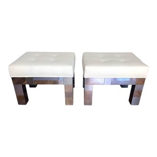 Cityscape Benches by Paul Evans for Directional - Pair For Sale