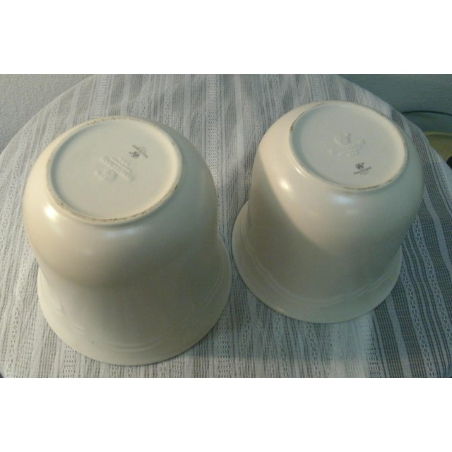 Early 21st Century Pfaltzgraff Tea Rose Cookie Jar Canisters - Set of 3 For Sale - Image 5 of 11