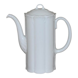 """1900s Vintage Rosenthal Germany Classic Rose Collection """"Monbijou"""" Coffee Pot For Sale"""
