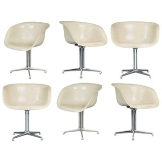Alexander Girard & Charles Eames La Fonda Armchairs for Herman Miller Circa 1960 For Sale