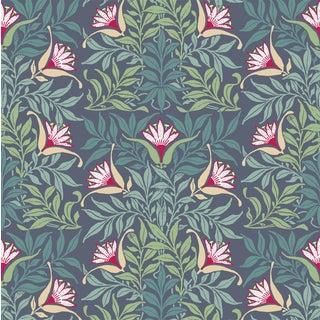 Flower Vine - Wallpaper Remnant For Sale