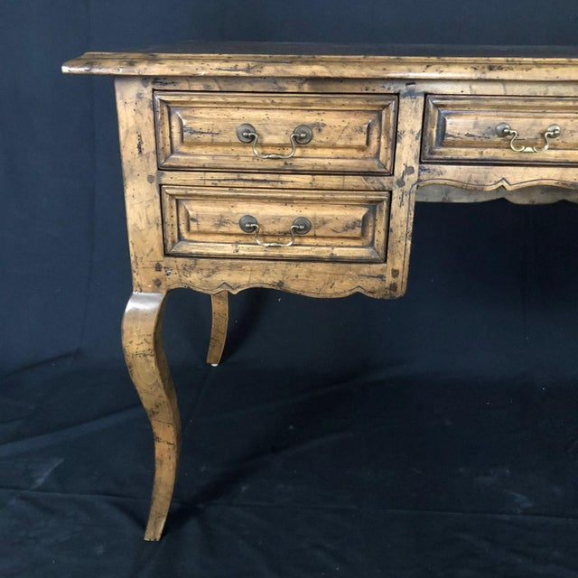 Country French Provincial Desk by Guy Chaddock For Sale - Image 4 of 13