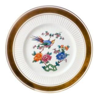 Sebring Birds of Paradise Chinoiserie Dessert Plate - 12 Available For Sale
