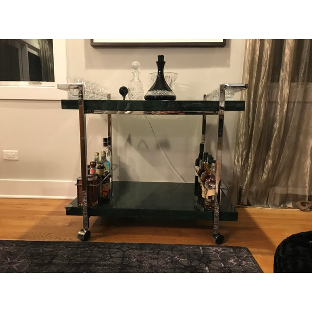 Maddox Maln Bar Cart For Sale - Image 4 of 13