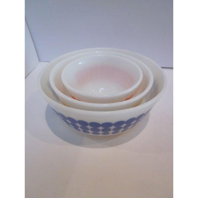 Pyrex Dots Mixing Bowls - Set of 4 - Image 7 of 7