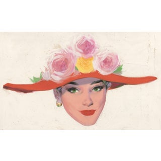 1950s Portrait of a Lady For Sale