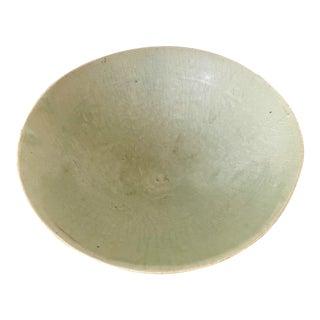 Celadon Ceramic Tea Bowl Korean Goryeo Dynasty For Sale